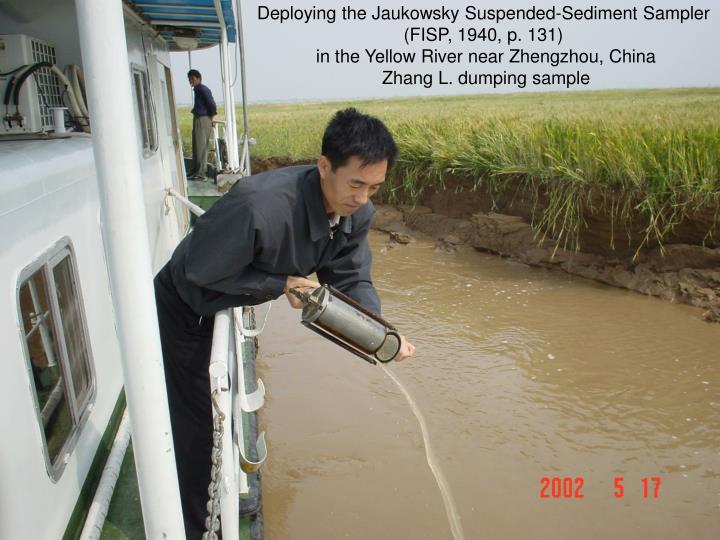 Deploying the Jaukowsky Suspended-Sediment Sampler