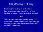 sc meeting 3 4 july