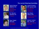 the current steering committee