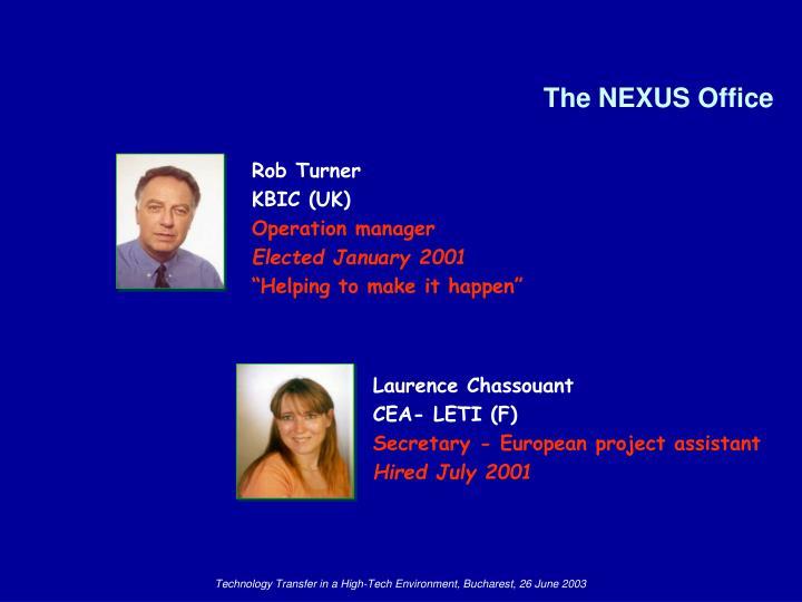 The NEXUS Office