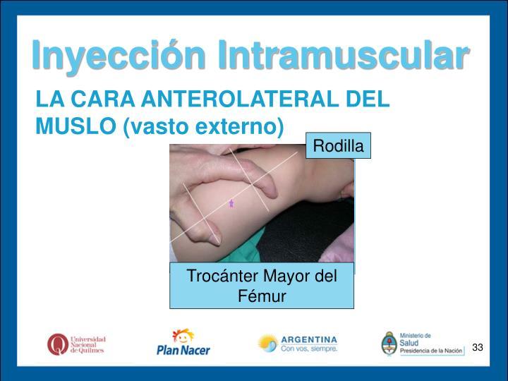 Inyección Intramuscular