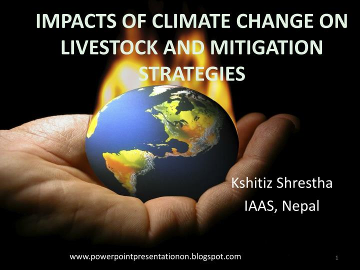 Impacts of climate change on livestock and mitigation strategies