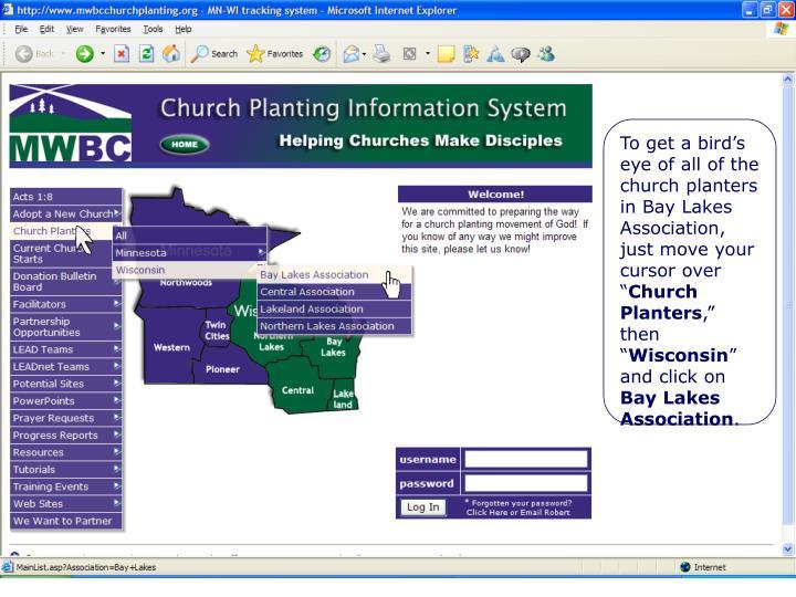 Select Certain Church Starts