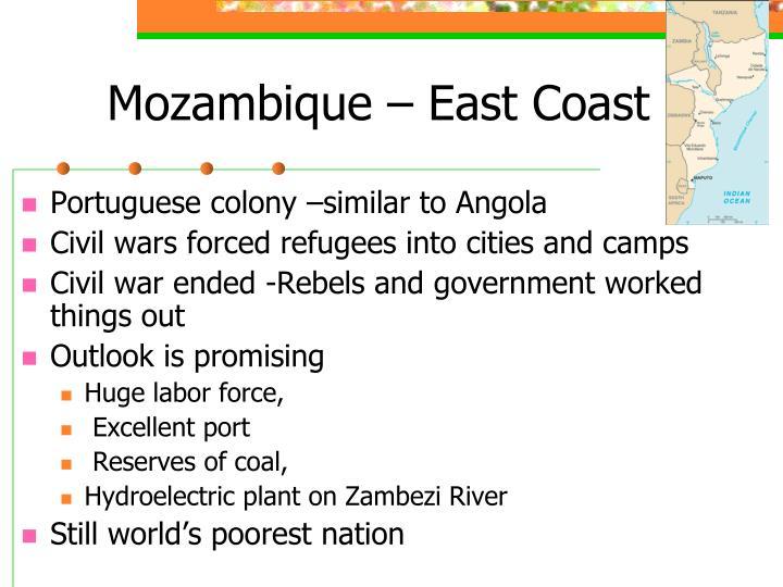 Mozambique – East Coast