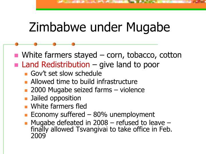 Zimbabwe under Mugabe