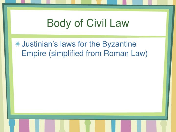 Body of Civil Law