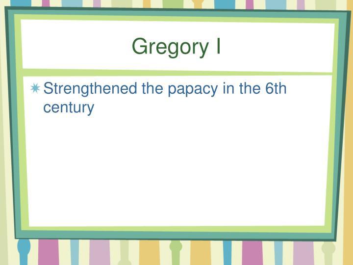 Gregory I