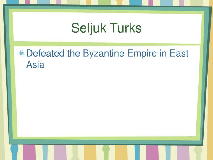Seljuk Turks