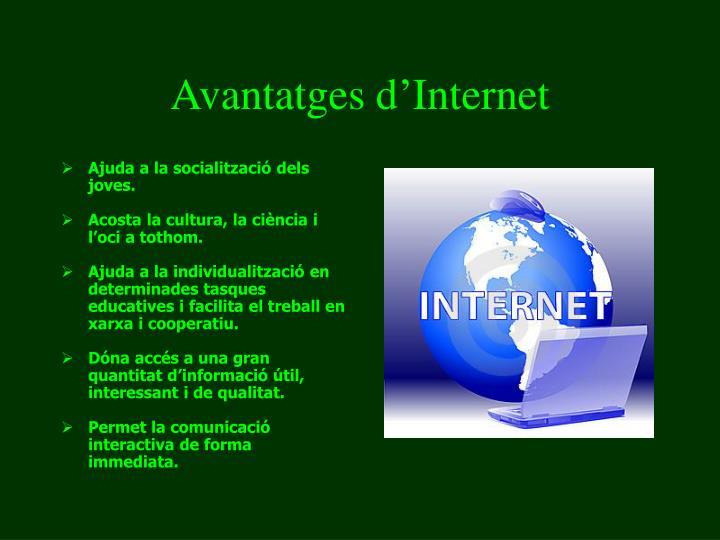 Avantatges d'Internet