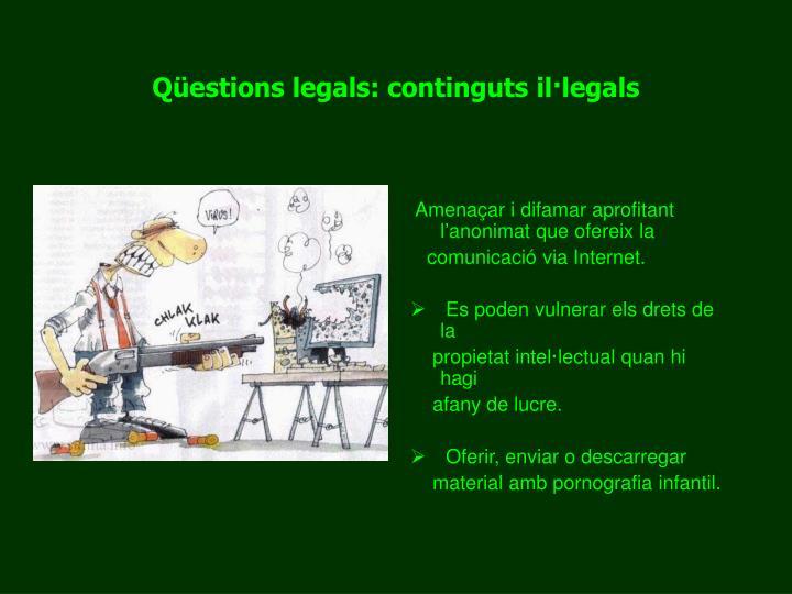 Qüestions legals