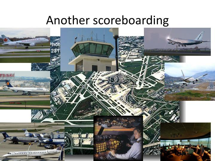 Another scoreboarding