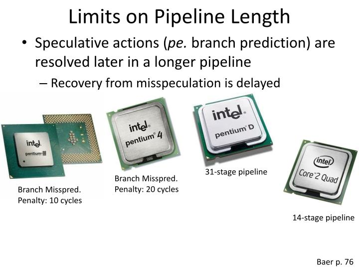 Limits on Pipeline Length