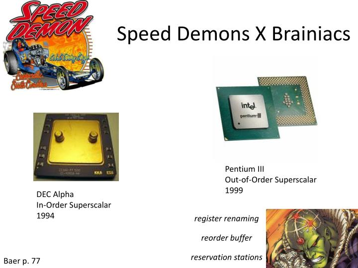 Speed Demons X Brainiacs