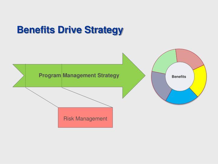 Benefits Drive Strategy