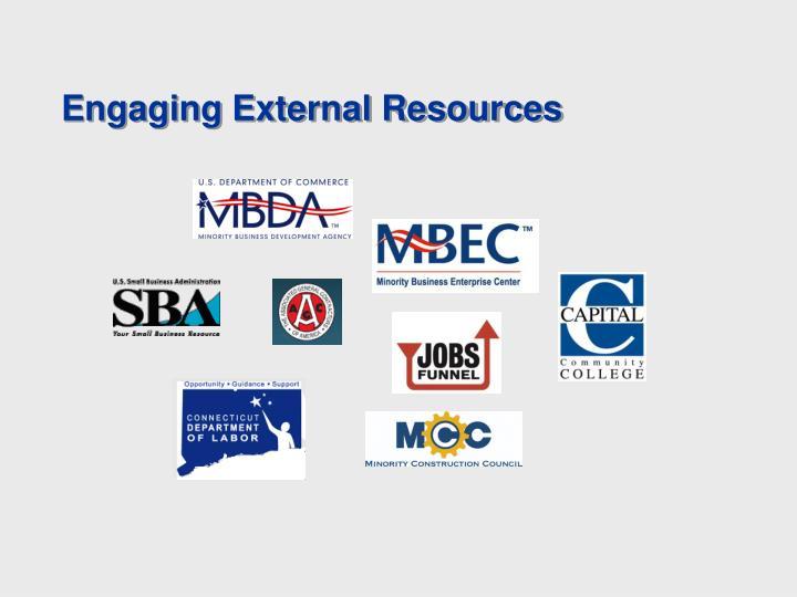 Engaging External Resources