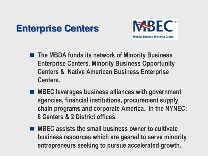 Enterprise Centers