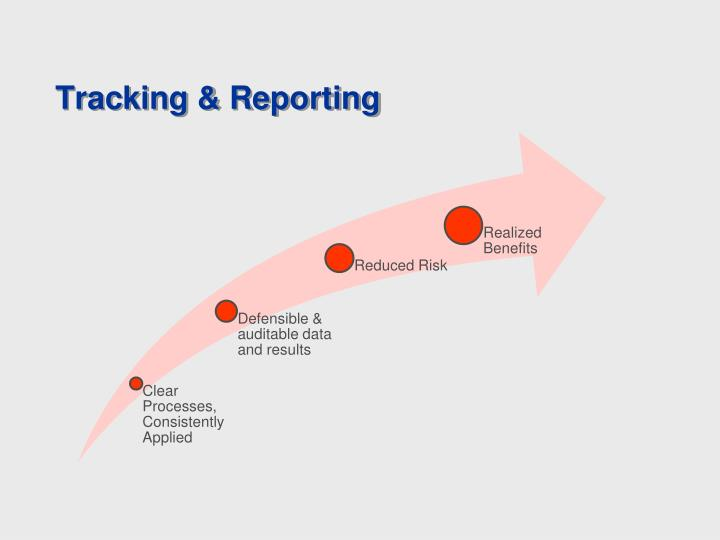 Tracking & Reporting