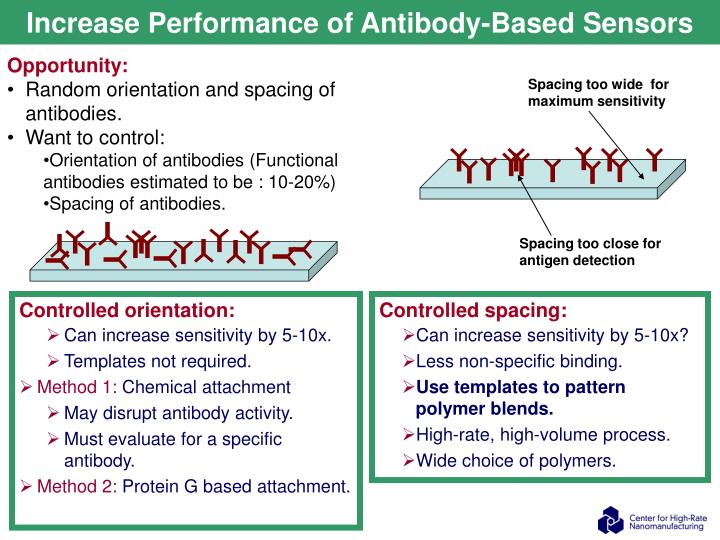 Increase Performance of Antibody-Based Sensors