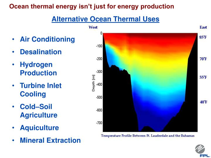 Ocean thermal energy isn't just for energy production