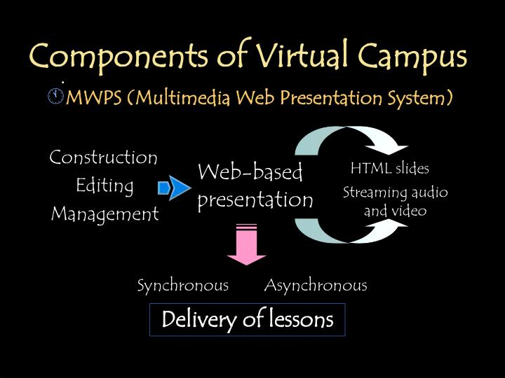 Components of Virtual Campus