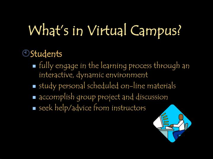 What's in Virtual Campus?