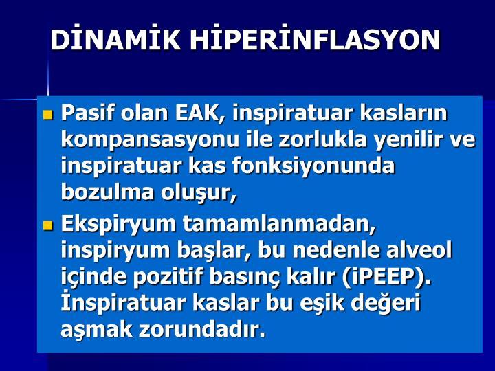 DİNAMİK HİPERİNFLASYON