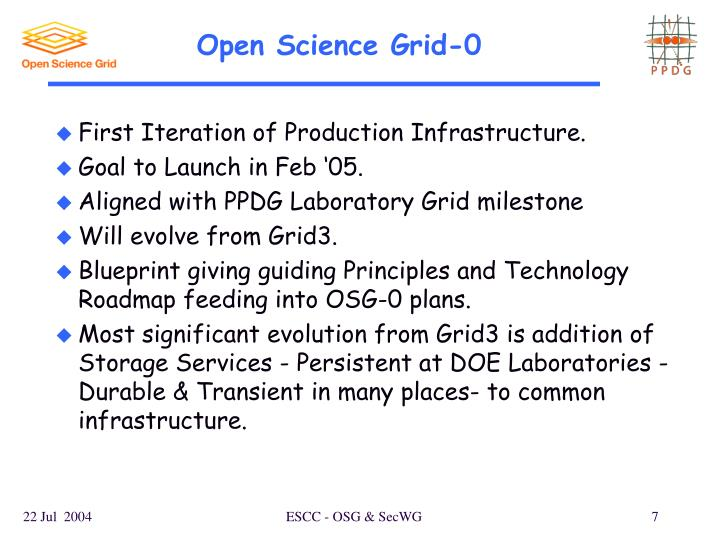 Open Science Grid-0