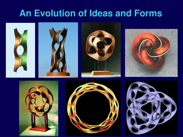 An Evolution of Ideas and Forms