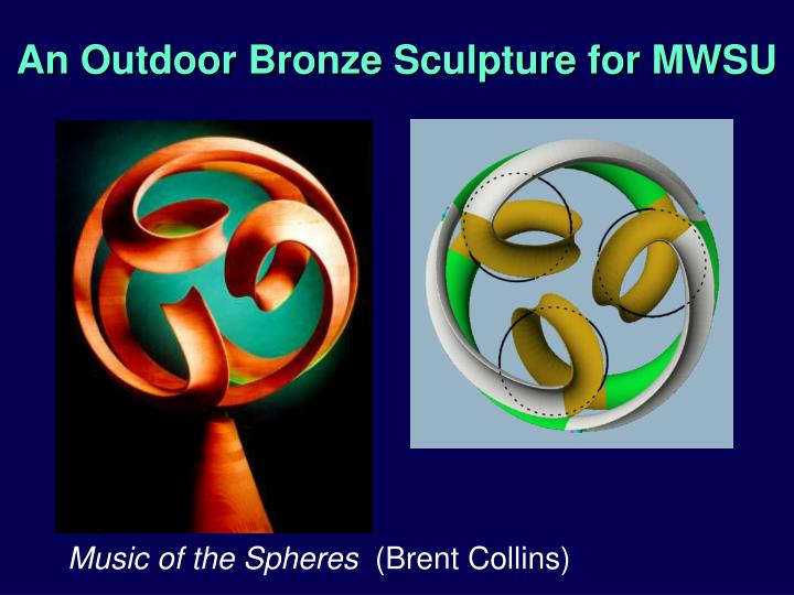 An Outdoor Bronze Sculpture for MWSU