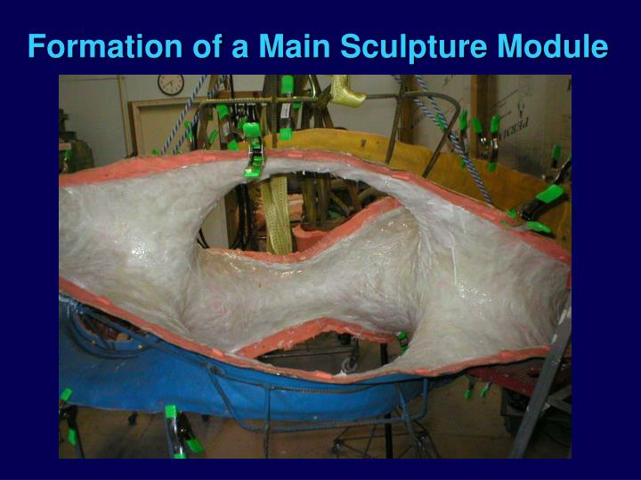 Formation of a Main Sculpture Module
