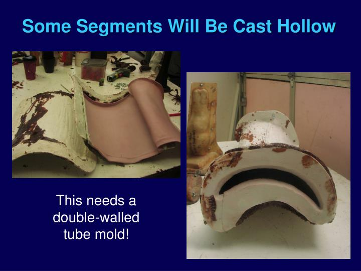 Some Segments Will Be Cast Hollow