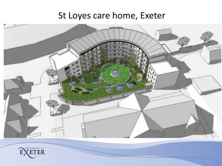 St Loyes care home, Exeter