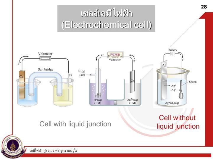 เซลล์เคมีไฟฟ้า