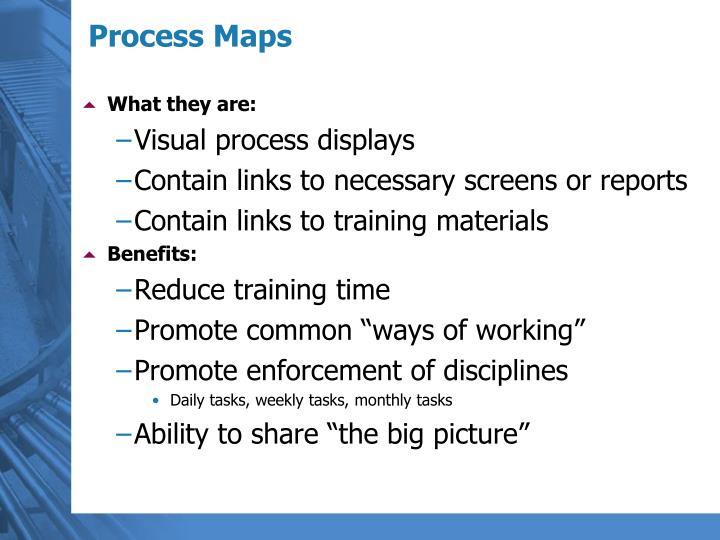 Process Maps