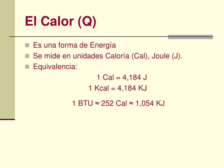 El Calor (Q)