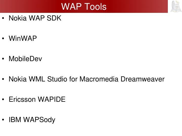 WAP Tools
