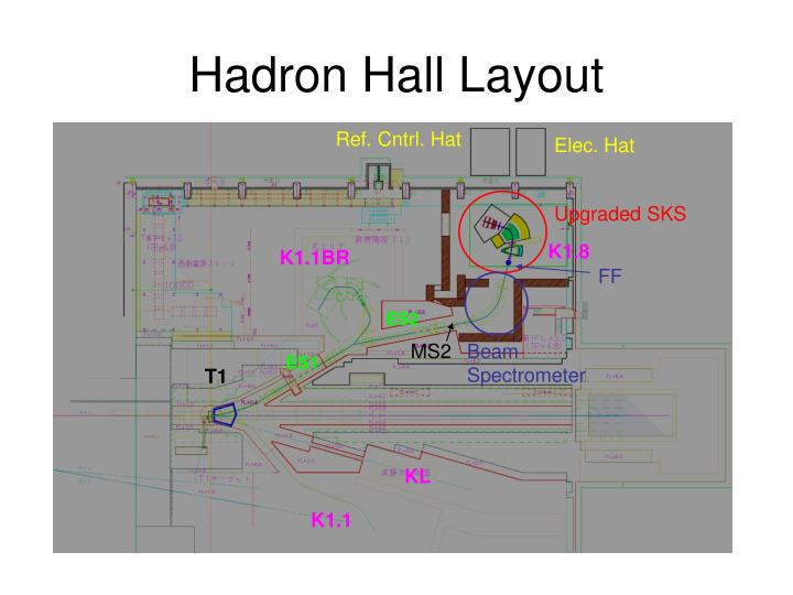 Hadron Hall Layout