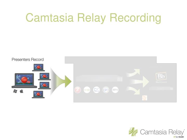 Camtasia Relay Recording
