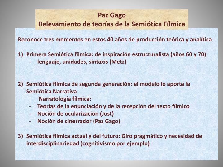 Paz Gago