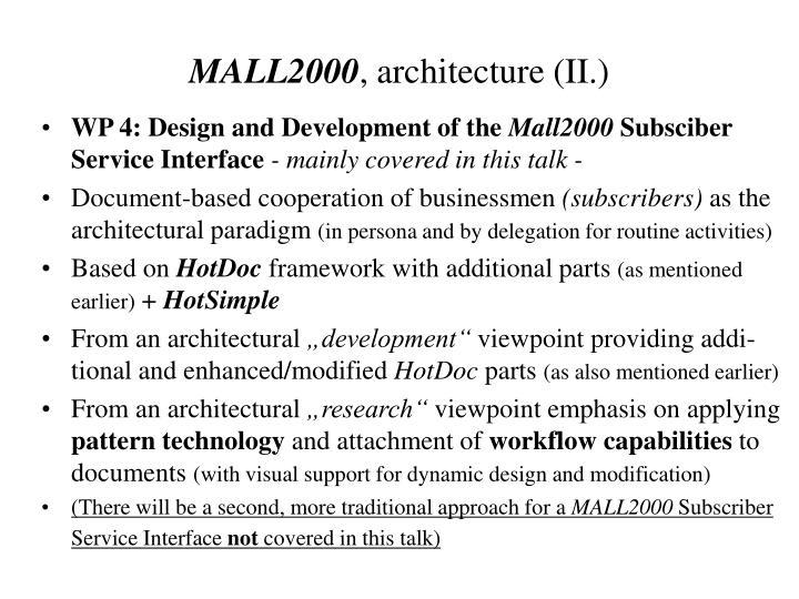 MALL2000