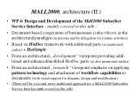 mall2000 architecture ii