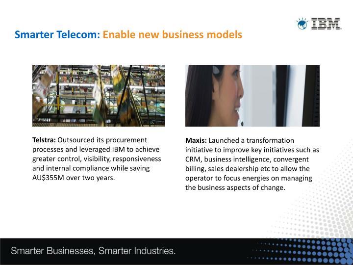 Smarter Telecom: