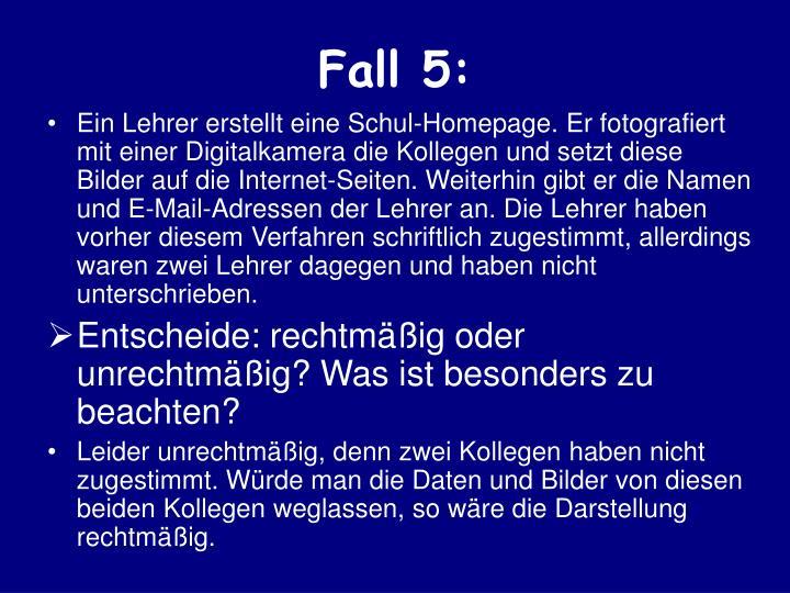 Fall 5: