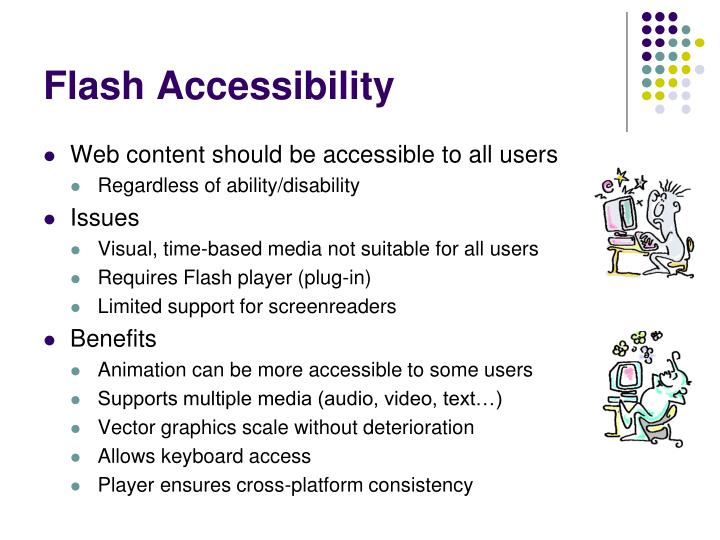 Flash Accessibility