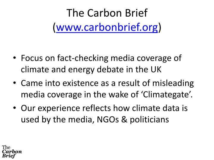 The Carbon Brief (