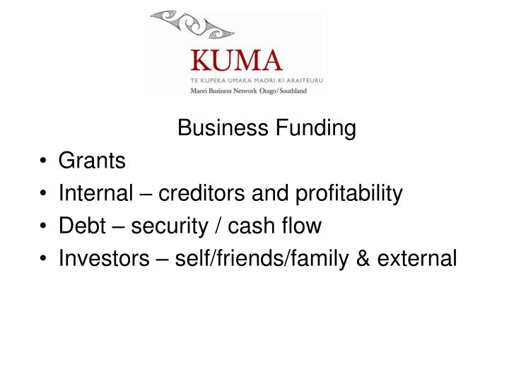 Business Funding