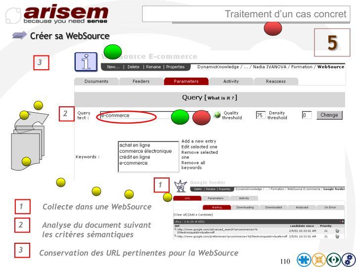 Créer sa WebSource
