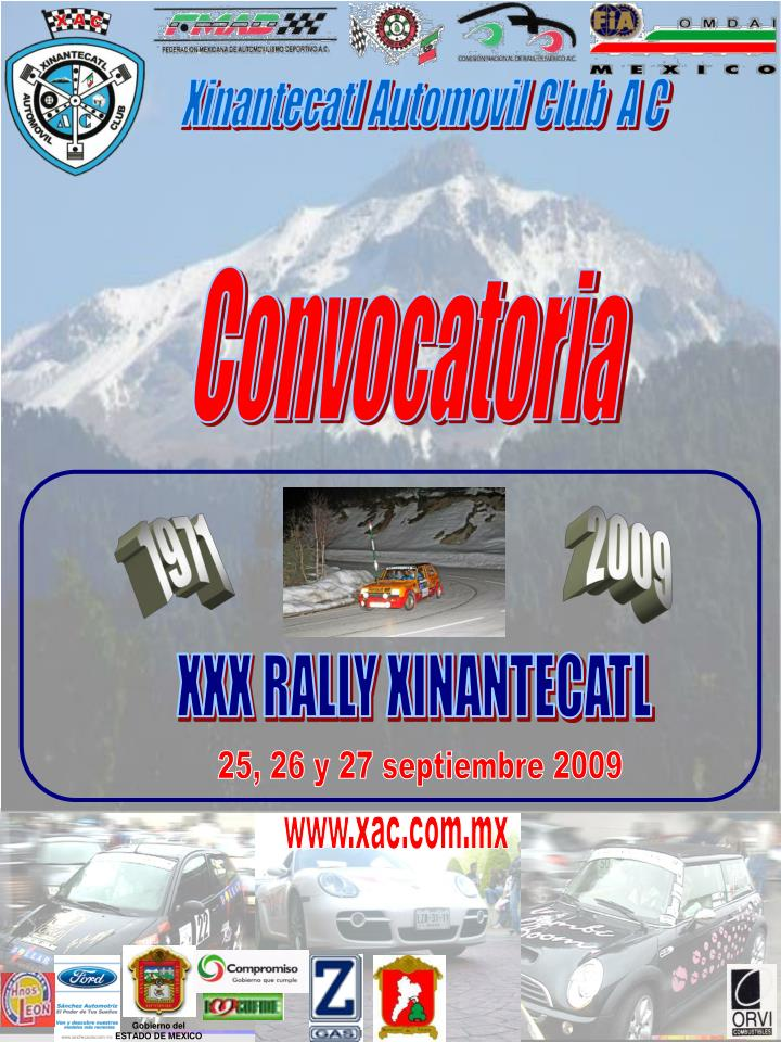 Xinantecatl Automovil Club  A C