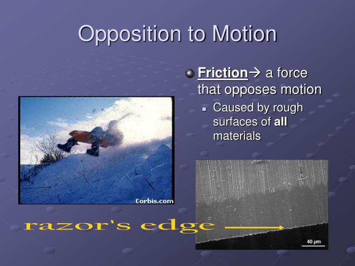 Opposition to Motion