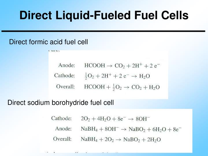 Direct Liquid-Fueled Fuel Cells